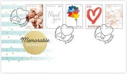 25/01/2021 Australia FDC Special Occasions 2021: Memorable Moments set of 5